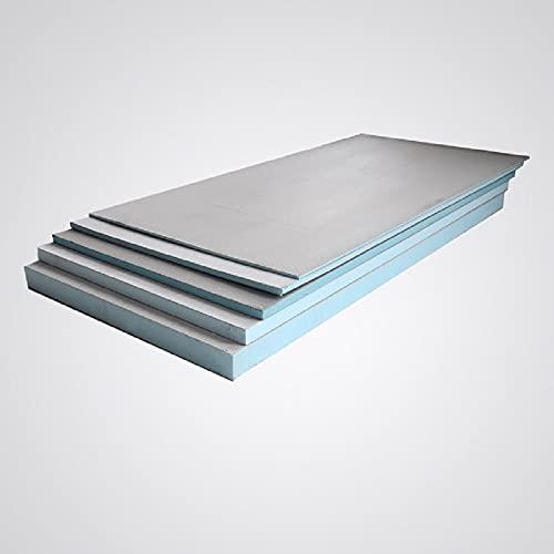 0,72 m² Bauplatte Fliesenplatte 0,6, mm 10 mm 20 mm 30 mm Ausgleichplatte XPS Entkopplungsplatte Dämmplatte Hartschaumplatte Extrem Druckfest (1200 x 600 x 30)