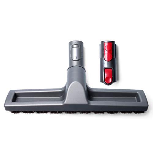 HUAYUWA Vakuum-Hartbodenbürste mit Adapter, Ersatz passend für Dyson V7 V8 V10 V11 Staubsauger Zubehör