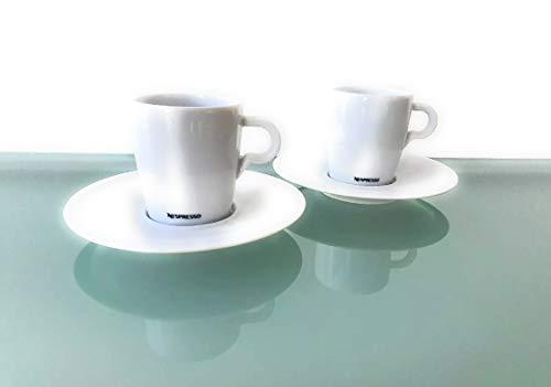 Nespresso 2er Set Classic Lungo Tassen mit Untertssen (4)