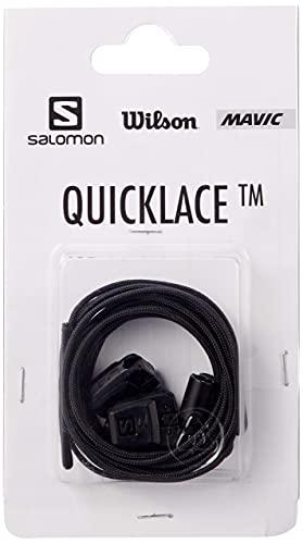 Salomon Quicklace Kit Unisex Ersatzschnürsenkel, Schwarz (Black), 42 ⅔ EU