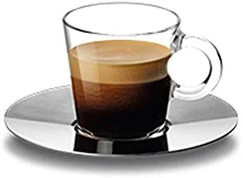 Nespresso View Espresso-Tasse mit Untertasse