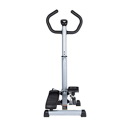 Afang Übung Mini Stepper Griff Fitness Maschine, Geeignet Zuhause Büro Fitness Stepper Bein Po Drehstepper Sidesteppe, Fitnessgerät Heimtrainer