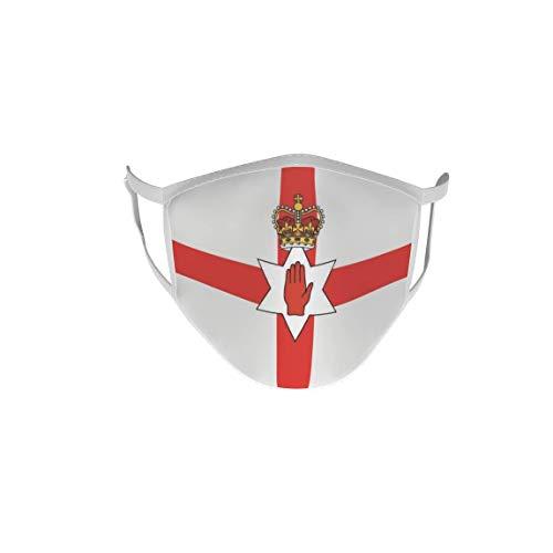 U24 Behelfsmaske Mund-Nasen-Schutz Stoffmaske Maske Nordirland