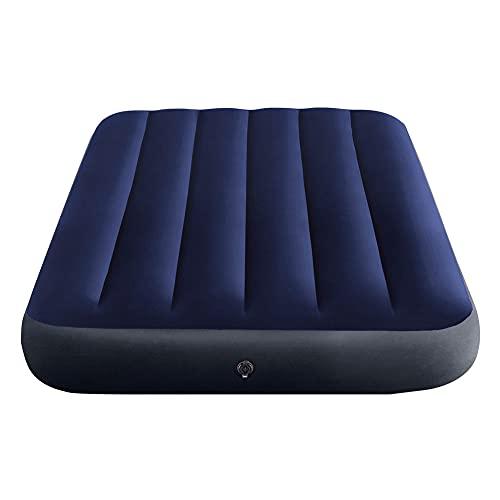 Intex 64757 Classic Downy Blue Dura-Beam Serie Twin Luftbett, Blau, 191 x 99 x 25 cm (L x B x H)