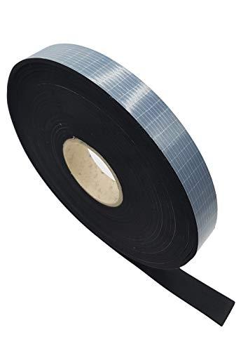 Develory EPDM Zellkautschuk DICHTUNGSBAND selbstklebend 10m lang - BREITE: 5mm bis 80mm - DICKE: 1mm bis 10mm - PREMIUM Qualität wie Moosgummi - AUSWAHL: 10 x 2mm x 10m - Rolle Gummi Schaum