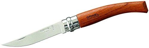 Opinel Slim-Line, Größe 8 Rostfrei Messer, Bubinga-Holz, 8 cm