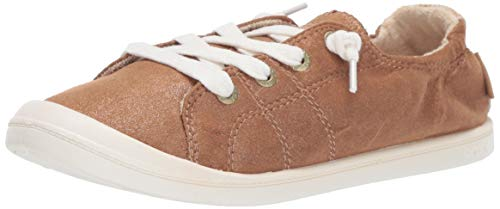 Roxy Damen Bayshore Slip On Sneaker Shoe Turnschuh, Bronze, 36 EU