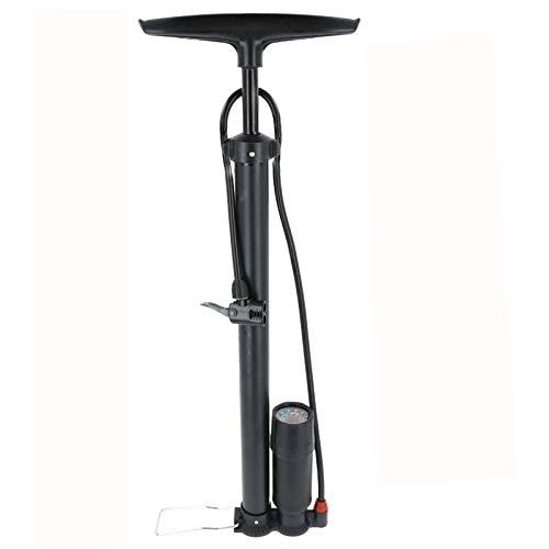 Smartweb HOCHDRUCK Fahrradpumpe für alle Ventile Sport Luftpumpe Standpumpe inklusive Manometer Fußpumpe Pumpe für Herren und Damen Fahrrad
