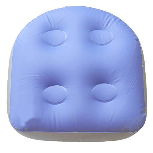 Spa- und Whirlpool-Zusatzsitz, aufblasbares Badewanne-Massagekissen, Entspannungsmassagematte mit Saugnäpfen, weiche Rückenstützbad-Spa-Auflage für ältere Erwachsene, Kinder zu Hause, Spa&Erholung