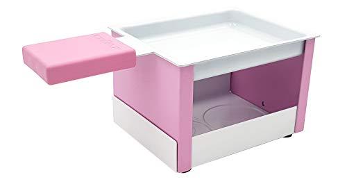 COOKUT Yeti-Pink Raclette mit Kerze, Nylon/A
