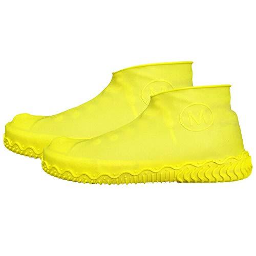Silikon Überschuhe Anti-Rutsch Regenüberschuhe Wiederverwendbare wasserdichte Überschuh, rutschfeste, Robuste Schuhschoner Für Regen, Schneetag, Schlammige Straßen Celucke