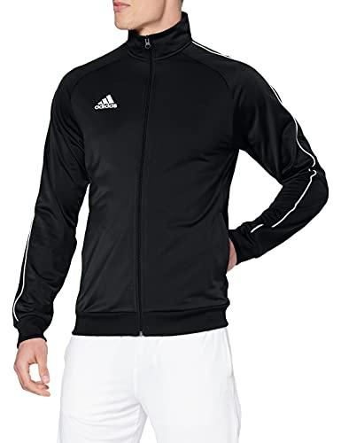 adidas Herren Jacke Core 18, Black/White, XL, CE9053