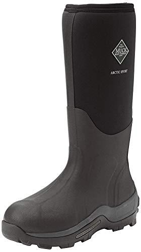 Muck Boots Arctic Sport, Unisex-Erwachsene Outdoor Fitnessschuhe, Schwarz (black), 47 EU