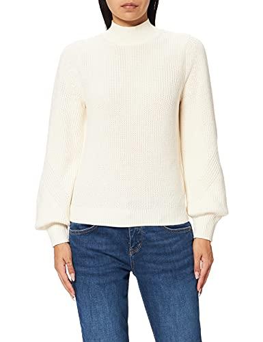 ESPRIT Stehkragen-Pullover aus 100% Bio-Baumwolle