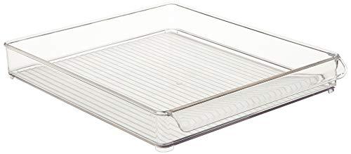 iDesign Kühlschrank und Gefrierschrank Lagerung Organizer Tray für die Küche, klar