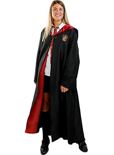 Funidelia | Harry Potter Gryffindor Umhang 100% OFFIZIELLE für Herren und Damen Größe S ▶ Hogwarts, Zauberer, Film und Serien, Zubehör für Kostüm - Lustige Kostüme für Deine Partys