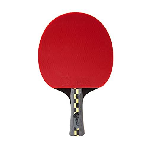 JOOLA 54195 Carbon Pro ITTF Zugelassener Tischtennis-Schläger für Fortgeschrittene Spieler - Carbowood Technologie, mehrfarbig, one size