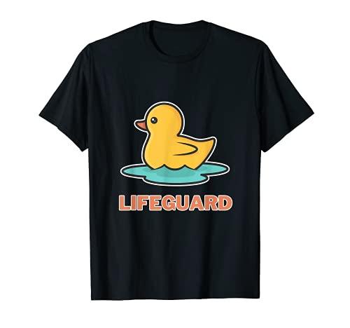 Bademeister Lifeguard Poolboy Rettungsschwimmer T-Shirt