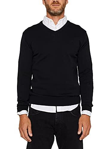 ESPRIT V-Neck-Pullover, 100% Baumwolle