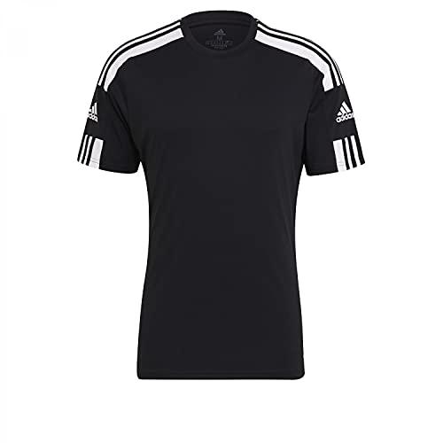 Adidas Herren Squadra 21 Jersey SS T-Shirt, black/white, X-Large