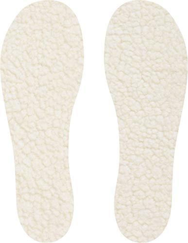 Playshoes Fleece, Zuschneidbar für Größe 20/21-34/35 für Ein Angenehmens Tragegefühl Einlegesohlen, Beige (Original) One Size