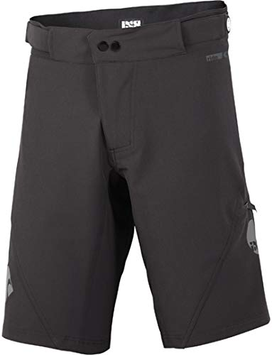 IXS Carve Shorts Black XXL Hose, Erwachsene Unisex, Schwarz