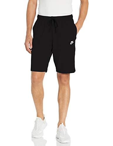Nike Herren M NSW Club Short JSY Sport, Black/(White), M