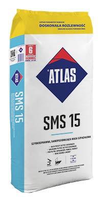 Atlas SMS 15 Ausgleichsmasse 1-15 mm 25 kg selbstnivellierende Bodenausgleichsmasse NEU
