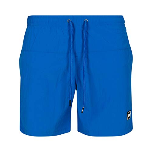 Urban s Herren Swim Badehose Badeshorts Block Swim Shorts Badehose, Cobalt Blue, 5XL