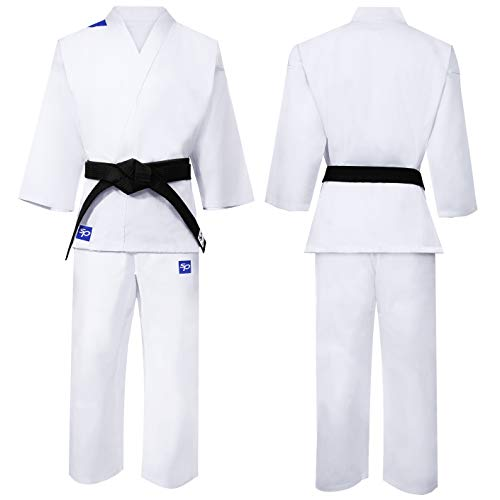 Starpro | Karate Kampfsport Anzug | Geeignet für Jiu Jitsu, BJJ GI, Karate GI, Jui Jitsu, Judo, Aikido Anzug, Taekwondo Anzug, Karate Anzug Baumwolle, Ju Jutsu Anzug, IBJJF, Taekwondo-Anzug