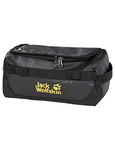 Jack Wolfskin Unisex– Erwachsene Expedition WASH Bag Kulturbeutel, Black, ONE Size