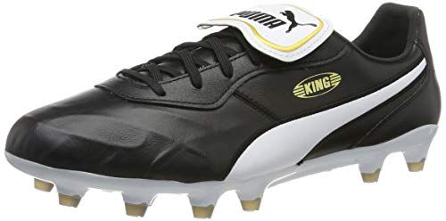 PUMJV|#Puma King Top Fg, (Puma Black-Puma White 01), 6 (39 EU) EU