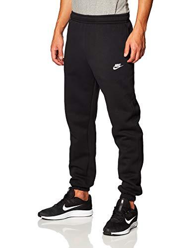 Nike Herren M NSW Club Pant CF BB Sport Trousers, Black/Black/(White), S
