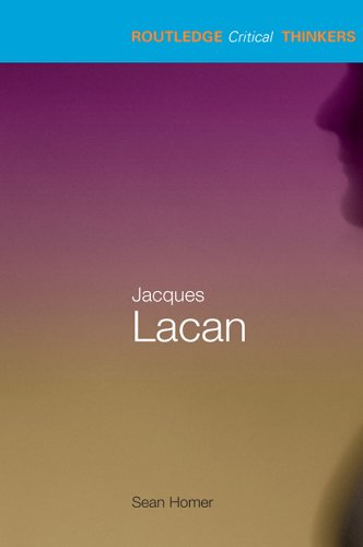 Jacques Lacan (Routledge Critical Thinkers) (English Edition)