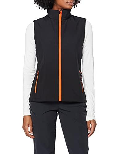 Result Core Damen Softshell-Weste, bedruckbar (XL) (Schwarz/Orange)