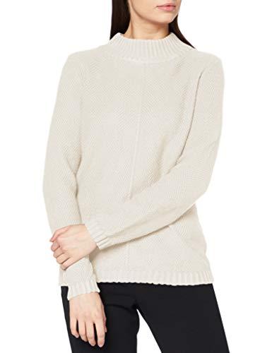 ESPRIT Damen 100EE1I308 Pullover, 299/CREAM BEIGE 5, M