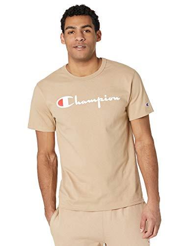 Champion Herren Heritage Tee T-Shirt, Country Walnut-Schriftlogo, XXX-Large