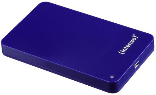 Intenso Memory Station 320GB externe Festplatte (6,4 cm (2,5 Zoll), USB-Y Kabel) blau