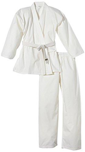 Kwon 551000160 ClubLine Karateanzug (Junior/Basic), weiß, 160cm