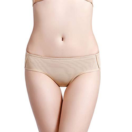 Calvinbi Damen Shapewear Push-up Unterhose Butt Lifted Unterwäsche Seamless Hipster Invisible Slip Sexy Slips Low Rise Low Waist Modern Bikini
