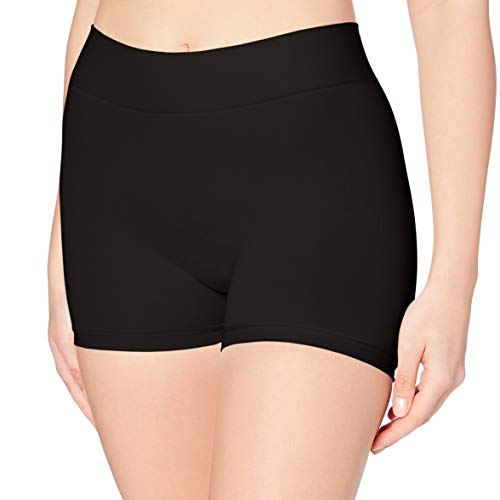 PIECES Damen PCLONDON Mini Shorts NOOS Panties, Schwarz (Black Black), 34 (Herstellergröße:XS/S)