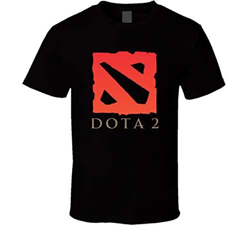 Lishui Ultimate Dota 2 Logo T-Shirt schwarz Gr. L, Schwarz