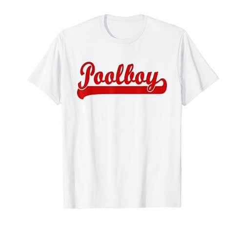 Poolboy Bademeister Rettungsschwimmer Hallenbad Poolboy T-Shirt