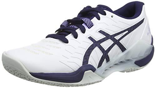 ASICS Damen 1072A046-100-5M Running Shoe, White Peacoat, 36 EU