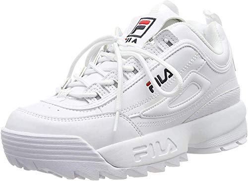 FILA Damen Disruptor wmn Sneaker, White, 39 EU
