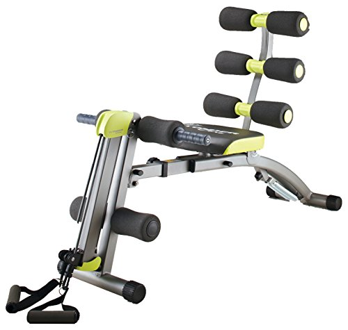 Wondercore II Unisex 6-in-1 Home-Fitness-Gerät, grau