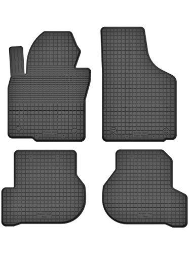 KO-RUBBERMAT Gummimatten Fußmatten 1.5 cm Rand geeignet zur VW Golf V VI Plus 2003-2013 ideal angepasst 4 -Teile EIN Set