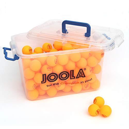 JOOLA Unisex– Erwachsene Training 40+ Tischtennisbälle, orange, One-Size