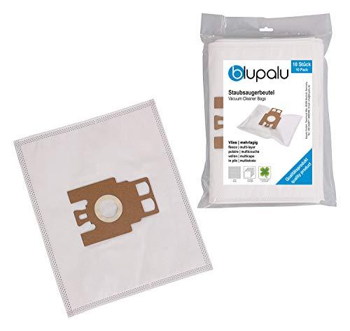 blupalu I Staubsaugerbeutel für Staubsauger Miele Electronic 1400 | Electronic 1400 Airclean (S163(-)) | I 10 Stück I mit Feinstaubfilter