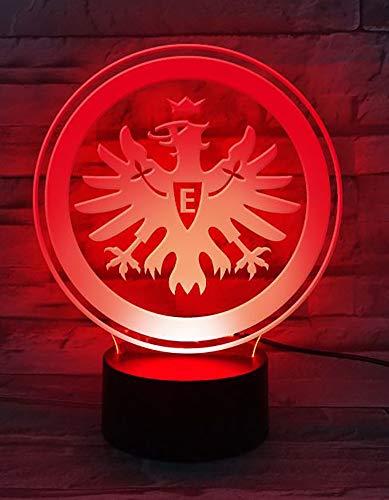 Eintracht Frankfurt Logo lampy LED